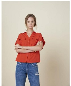 Camicia SILVIAN HEACH PUCEY PGP2185CAHB Rosso